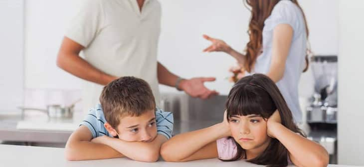 Как подать на развод с двумя детьми фото