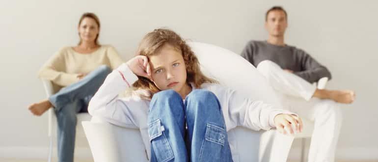 Как происходит общение с ребенком после развода супругов фото