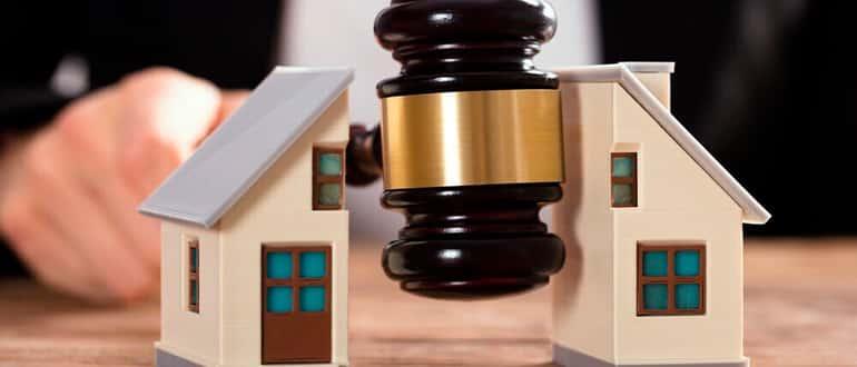 Как суд делит квартиру при разводе фото