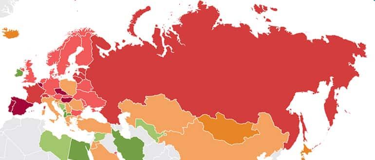 Место России в мире по разводам фото