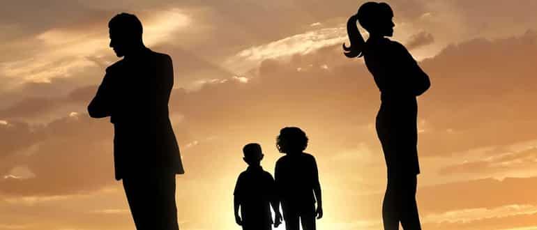 На кого записывается ребенок после развода супругов фото
