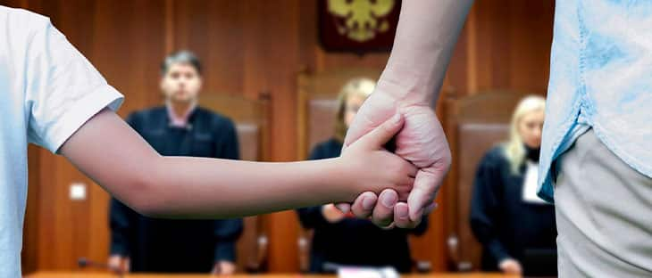 Определение места проживания ребенка после развода фото