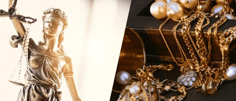 Раздел драгоценностей при разводе фото