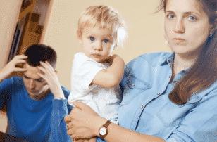 Развод при наличии маленьких детей фото