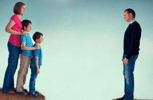 Общение отца с ребенком после развода фото