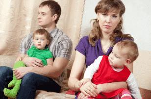 Развод с двумя маленькими детьми фото